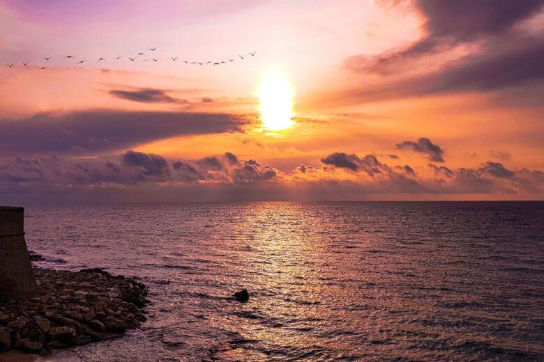 tramonto gallipoli